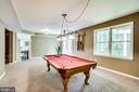 Rec room with walkout - 43083 ROCKY RIDGE CT, LEESBURG