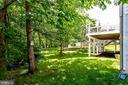 Treed backyard with perfect hammock spot - 43083 ROCKY RIDGE CT, LEESBURG