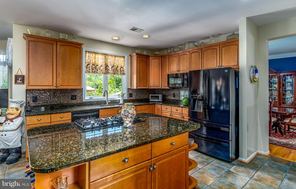 WARM AND AMPLE KITCHEN CABINETRY - 25753 SPECTACULAR RUN PL, CHANTILLY