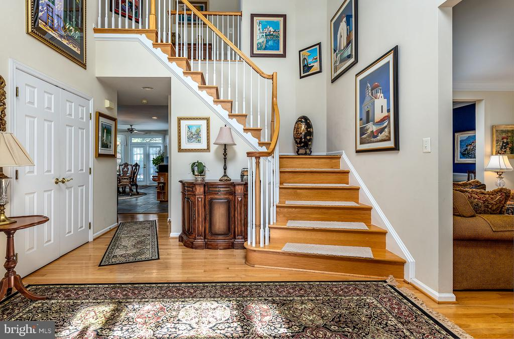 GRAND ENTRY FOYER - 25753 SPECTACULAR RUN PL, CHANTILLY