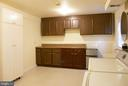 Extra Storage in Laundry Room. - 5614 DE SOTO ST, BURKE
