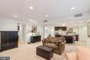 View of Basement - 42819 MEANDER CROSSING CT, BROADLANDS