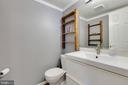 Main level half bath - 11 CHEVAL CT, STERLING
