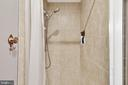 Master shower - 11 CHEVAL CT, STERLING