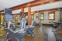 Exercise room at Lansdowne clubhouse - 43083 ROCKY RIDGE CT, LEESBURG