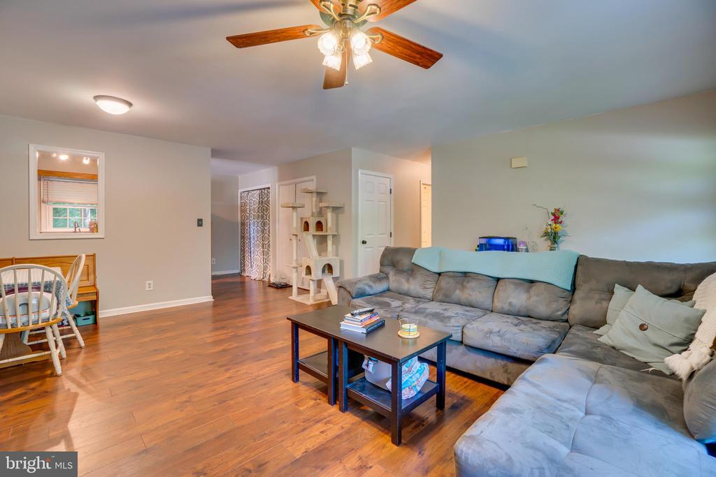 Wood Flooring throughout Main Living Areas - 11015 ABBEY LN, FREDERICKSBURG