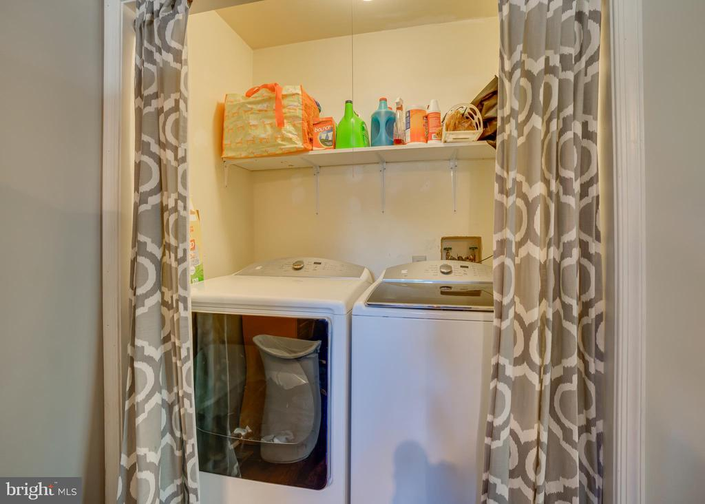 Laundry Area off Kitchen - 11015 ABBEY LN, FREDERICKSBURG