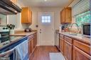 Oak Cabinets - 11015 ABBEY LN, FREDERICKSBURG