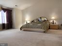 Vaulted ceilings Master bedroom/bathroom - 9202 MATTHEW DR, MANASSAS PARK