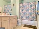 2nd floor full bath with double sink - 9202 MATTHEW DR, MANASSAS PARK
