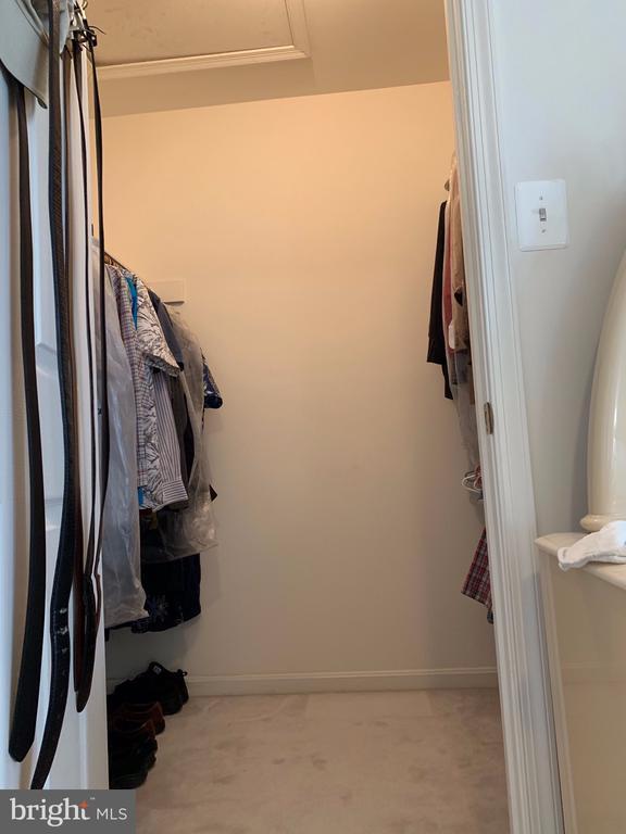 2nd Walk in closet - Master Bedropom - 9202 MATTHEW DR, MANASSAS PARK
