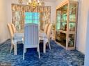 Formal Dining room - 9202 MATTHEW DR, MANASSAS PARK