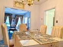 Large walk thru formal Living/Dining room - 9202 MATTHEW DR, MANASSAS PARK