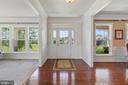 Grand foyer entrance - 7375 TUCAN CT, WARRENTON
