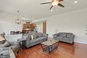 Family Room - 7375 TUCAN CT, WARRENTON