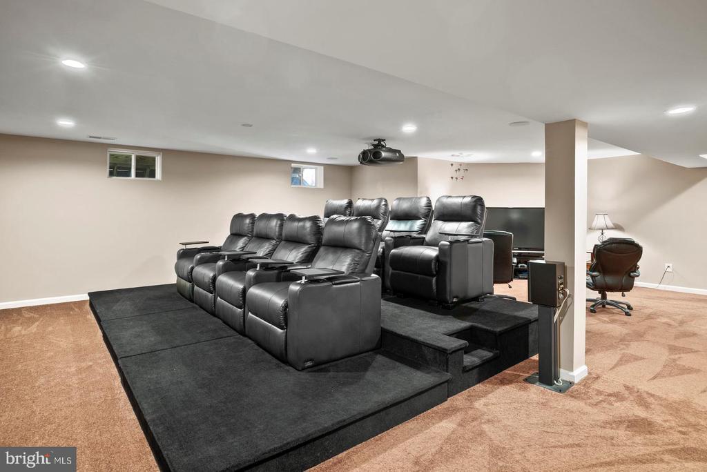 Theatre/Media ~Room - 7375 TUCAN CT, WARRENTON