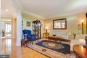 Formal Living Room with Hardwood Floors - 22388 BELLE TERRA DR, ASHBURN
