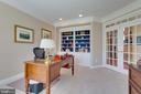 Library with Built-in Shelves - 22388 BELLE TERRA DR, ASHBURN