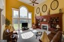 Custom Built-in's in the Family Room - 22388 BELLE TERRA DR, ASHBURN