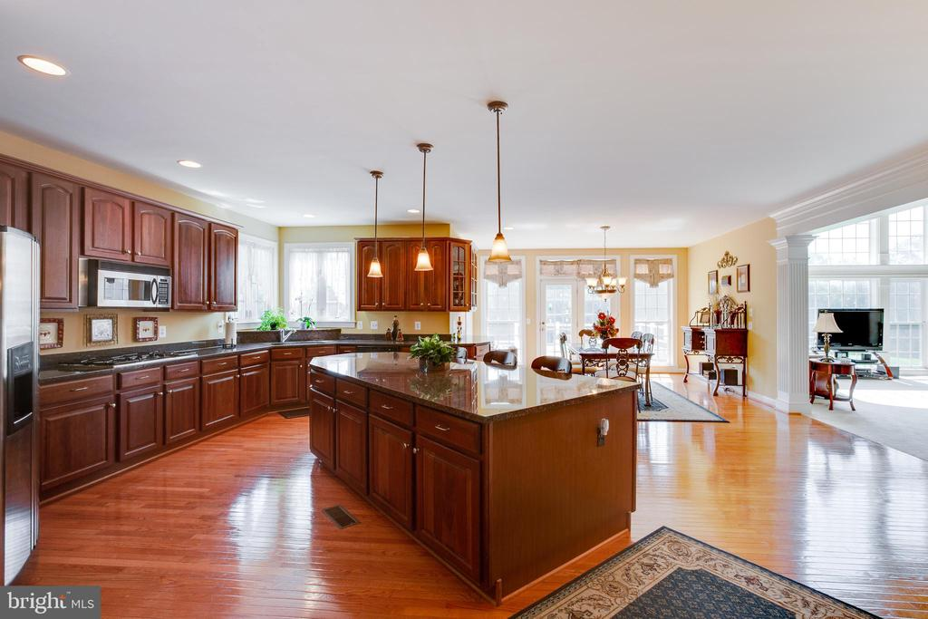 Gourmet Kitchen with Granite Counters - 22388 BELLE TERRA DR, ASHBURN