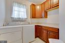 Main Level Laundry Room - 22388 BELLE TERRA DR, ASHBURN