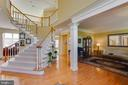 Elegant Two Story Foyer - 22388 BELLE TERRA DR, ASHBURN