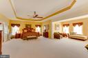 Spacious Master Suite with Tray Ceiling - 22388 BELLE TERRA DR, ASHBURN