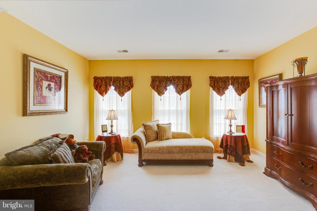 Great Sitting Room in the Master Bedroom - 22388 BELLE TERRA DR, ASHBURN