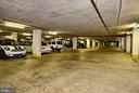 Underground parking garage - 1800 OLD MEADOW RD #621, MCLEAN