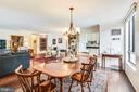 Dining/Living room - 1800 OLD MEADOW RD #621, MCLEAN