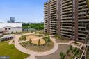 View from balcony - 1800 OLD MEADOW RD #621, MCLEAN