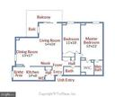 Floor-plan - 1800 OLD MEADOW RD #621, MCLEAN