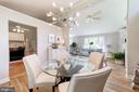 Dining Room / living Room - 633 PROSPECT PL, ALEXANDRIA