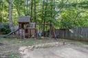 Wood playground set conveys with purchase of home. - 35 GREEN LEAF TER, STAFFORD