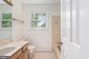 Upper level hall full bath. - 35 GREEN LEAF TER, STAFFORD