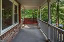 Porch swing conveys with home purchase. - 35 GREEN LEAF TER, STAFFORD