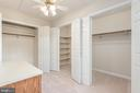 Private separate dressing area in master bedroom. - 35 GREEN LEAF TER, STAFFORD