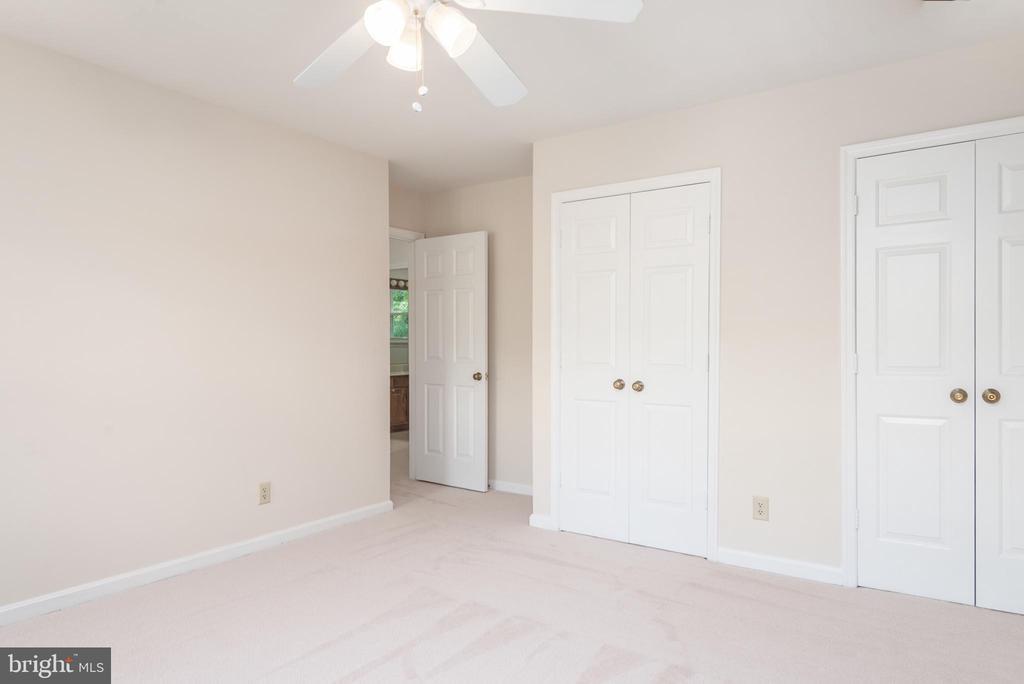 Upper bedroom facing front of home. Large closets - 35 GREEN LEAF TER, STAFFORD