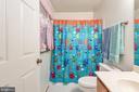 Main floor full bath. - 35 GREEN LEAF TER, STAFFORD