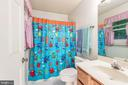 Tub shower combination on main floor master bath.. - 35 GREEN LEAF TER, STAFFORD