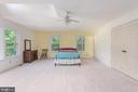 Main floor master bedroom large closet. - 35 GREEN LEAF TER, STAFFORD