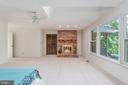Main floor bedroom sits off family room. - 35 GREEN LEAF TER, STAFFORD