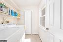 Amazing laundry w/custom shelves & pantry. - 35 GREEN LEAF TER, STAFFORD
