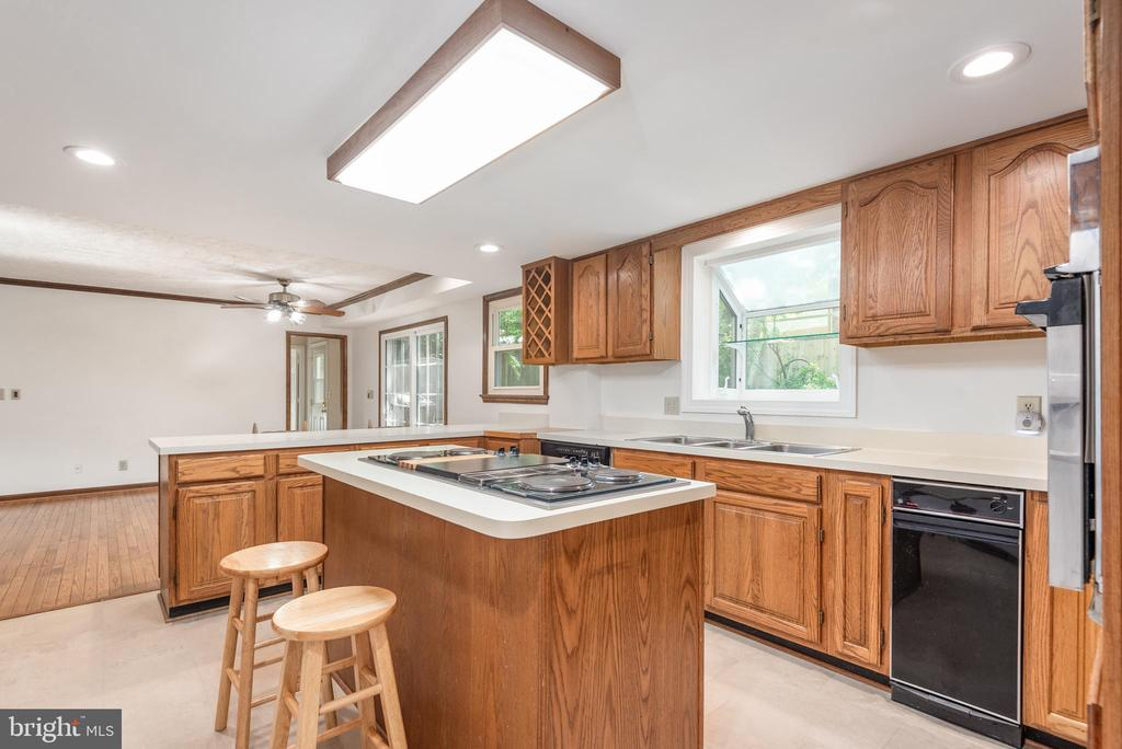 Large lighting with LED recessed lights. - 35 GREEN LEAF TER, STAFFORD