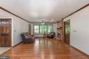 Refinished wood floors in dining and family rooms. - 35 GREEN LEAF TER, STAFFORD