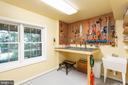 Lower Hobby Room with Full Window - 10735 BEECHNUT CT, FAIRFAX STATION