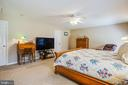 First Master bedroom - 7376 COURTHOUSE RD, SPOTSYLVANIA