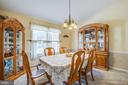Dining room - 7376 COURTHOUSE RD, SPOTSYLVANIA
