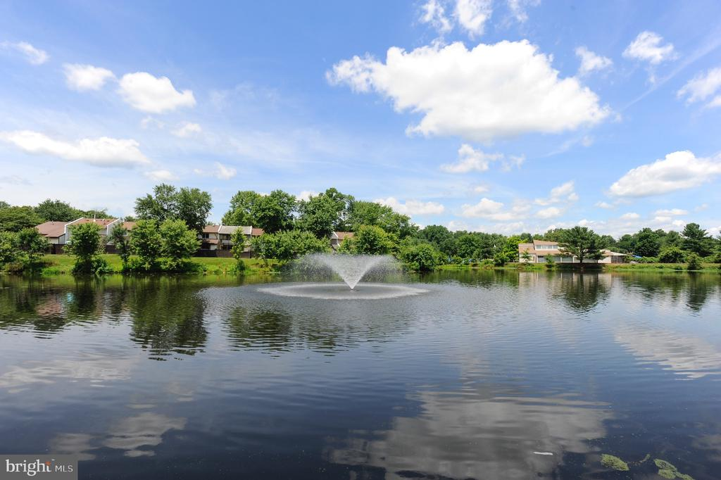 Fountain and lake to enjoy! - 24 SIMEON LN, STERLING