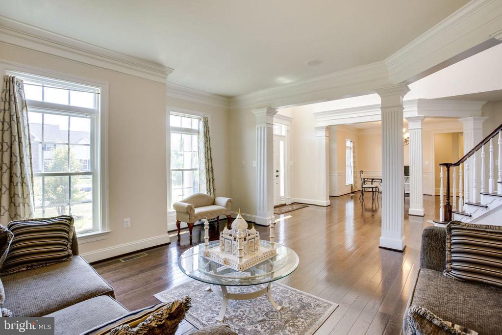 Living Room looking into Foyer - 42394 MADTURKEY RUN PL, CHANTILLY